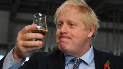 IN BEELD. De opvallendste tussenstops van Boris Johnsons verkiezingstournée
