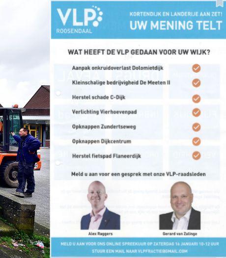 Bewoners Kortendijk geïrriteerd over VLP-flyer: 'Ze zetten mensen op het verkeerde been'