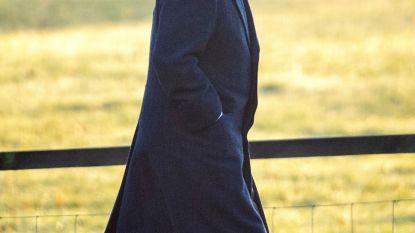 Prins Andrew voor het eerst gezien in het openbaar sinds zijn omstreden interview