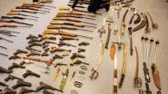Zestiger met gigantische wapencollectie krijgt drie jaar cel met uitstel