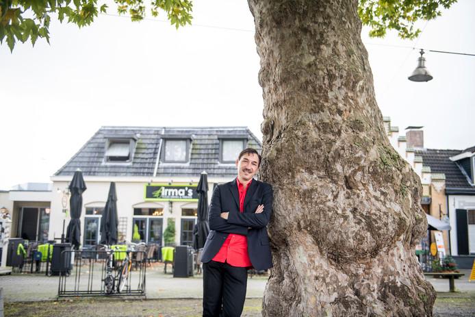 Gaby den Held voor Irma's, het etablissement in Diepenheim dat voorheen Café Boonk heette.
