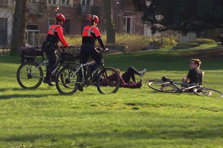 """""""Si nous trouvons un cycliste à 50 kilomètres de sa maison, nous n'avons rien à dire sur le fait que ce n'est pas autorisé"""", regrette la police."""