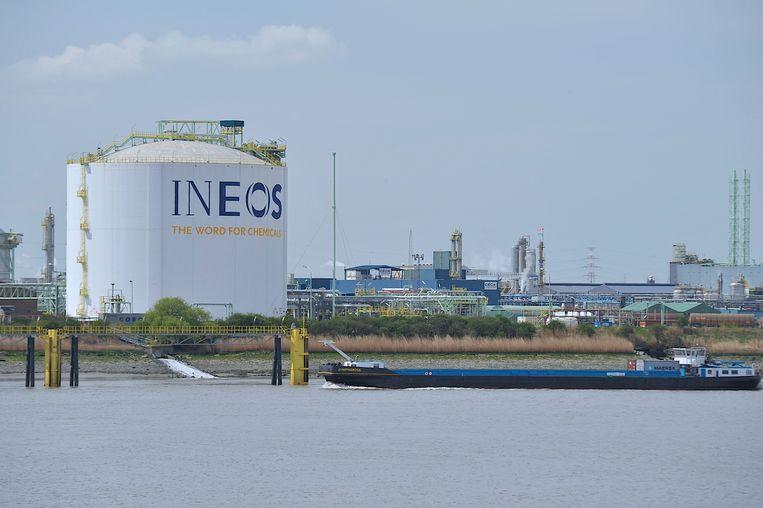 Ineos is nu al actief in de Antwerpse haven.