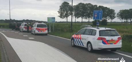 Man aangehouden na dreigen met wapen op A2 bij Vianen