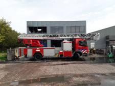 Gissen naar de oorzaak van de brand in Sint-Philipsland