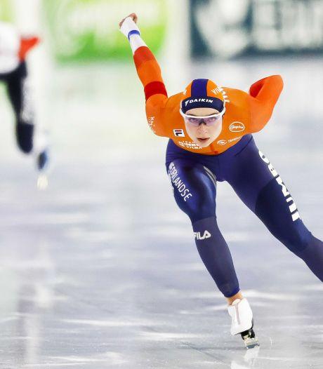 Bornse schaatsster Beune debuteert op EK allround met vijfde plaats