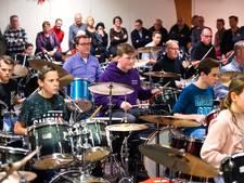 Drummer Golden Earring geeft workshop in Doornenburg