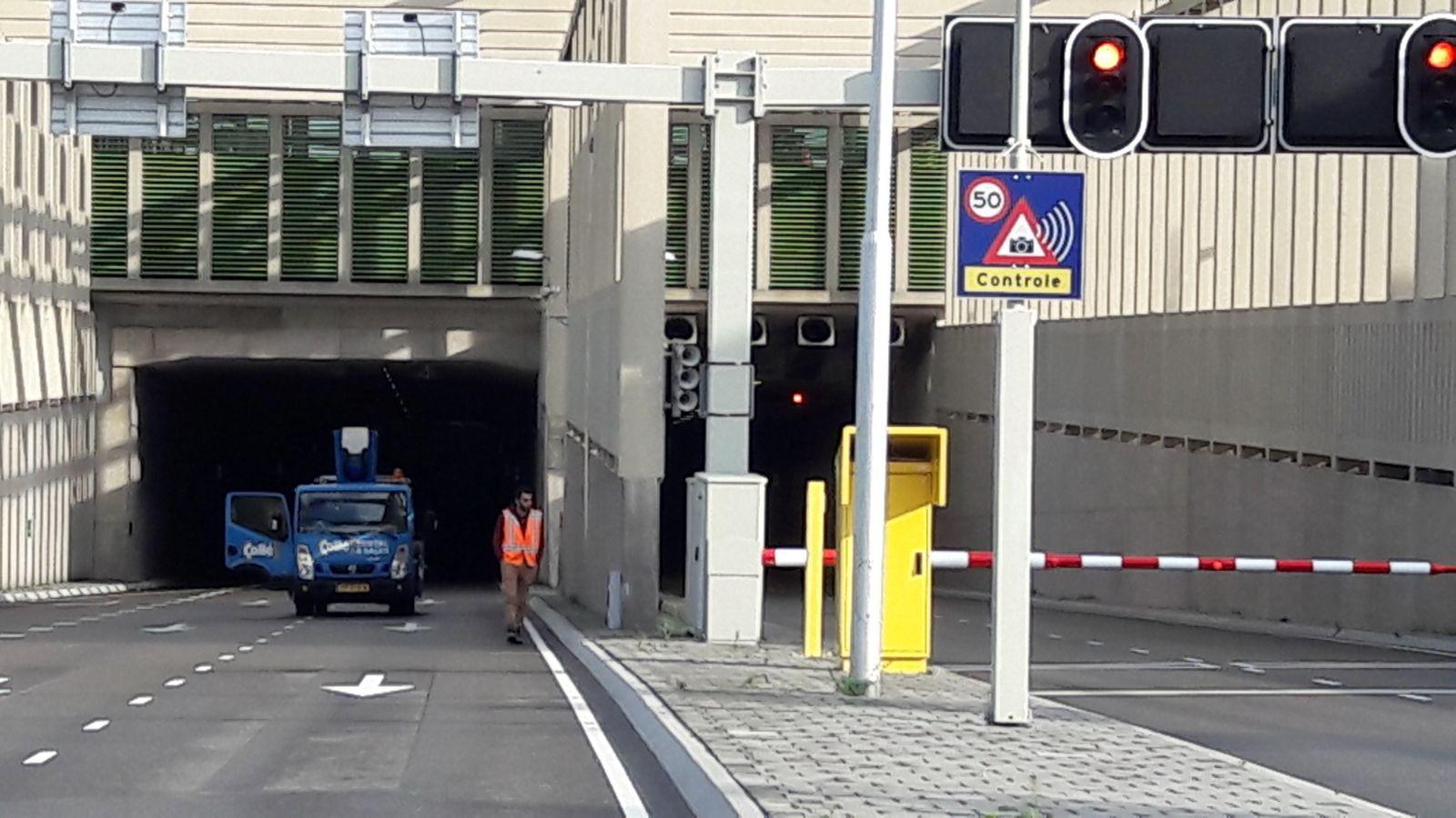 De stadsbaantunnel in Utrecht.