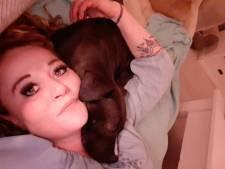 Leontiens pitbull werd in Almelo voor haar ogen doodgereden: 'De bestuurder stopte niet eens'