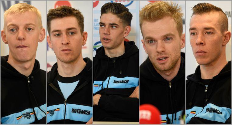 De Belgische WK-selectie kreeg drie vragen voorgeschoteld net voor de start van het WK in Dübendorf.