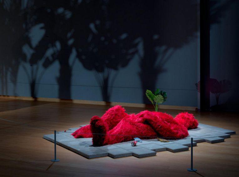 Zaalopname Stefan Tcherepnin: The Mad Masters, 2018, Stedelijk Museum Amsterdam Beeld Gert Jan van Rooij