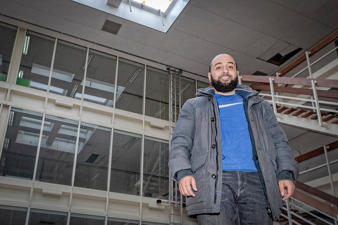 Fouad Khouakhi, secretaris van moskee Assalam in Gouda.