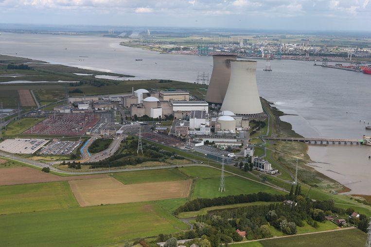 Kerncentrale Doel, bij Antwerpen. Beeld BELGA