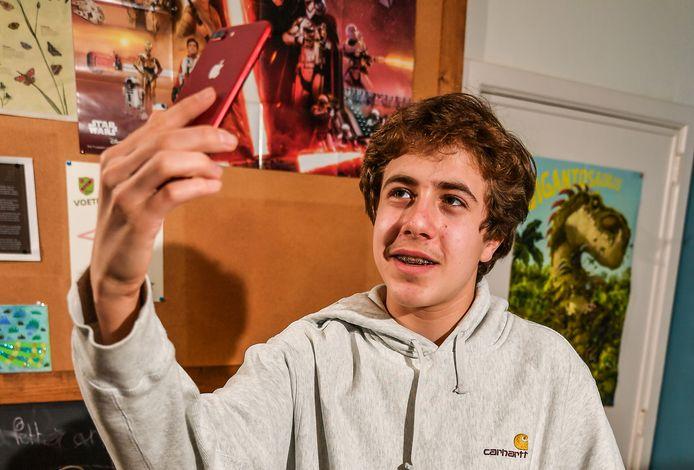 Nand Schotsmans (15) uit Nijlen, studeert Sociaal-technische Wetenschappen