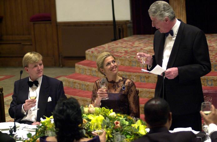 Koning Willem Alexander, Maxima en Wim Kok