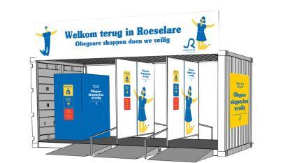 Zo gaan we vanaf maandag coronaproof shoppen in Roeselare