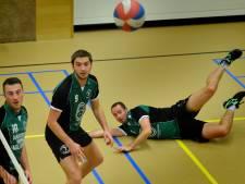 Volleyballers Kwiek krijgen het roer niet om