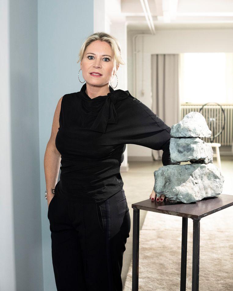 De nieuwe experte Sofie Van de Velde runt in Antwerpen twee kunstgalerijen.