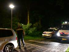 Grootscheepse zoekactie politie op sportpark Hoekelumse Eng in Ede