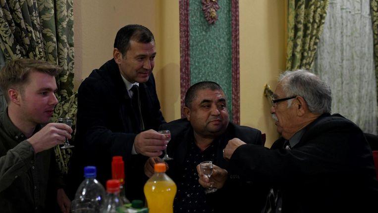 Tom Vennink in Oezbekistan. Beeld null