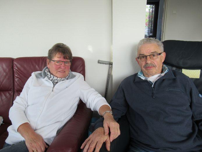 Gouden paar Gerard en Jo Huijbers-Wassink