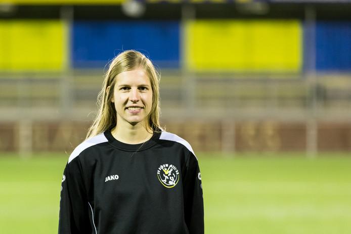 Marissa Duursma, doelpuntenmachine van Blauw Geel'55.