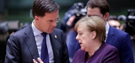 Rutte komt met eigen plan voor herstelfonds, hekelt plan van Merkel en Macron