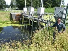 Waterrad voor stroom bij Groote Wetering in Berlicum