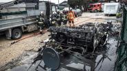 Caravan gaat in vlammen op: brandstichters voor rechter