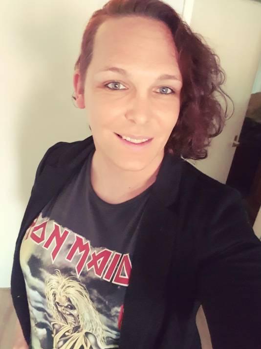 Amber Pater (38):  ,,Op internet is iedereen voor gelijke kansen voor transgenders. Maar als je dan voor hun neus staat, is het vaak toch wat anders.''