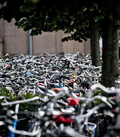 Fietsenstalling aan Stationsplein Enschede veiliger door camera's