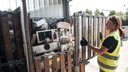 Recyclagepark gesloten op 18 oktober