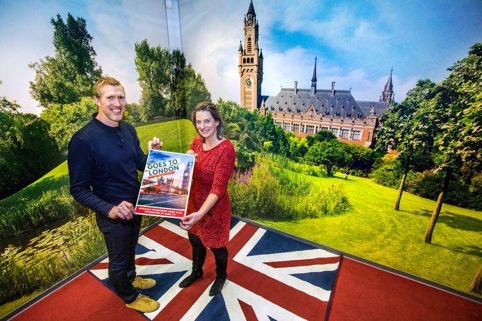 Ivo Doesburg van ROC Mondriaan en Ellen Weijand van Travel Inventive.