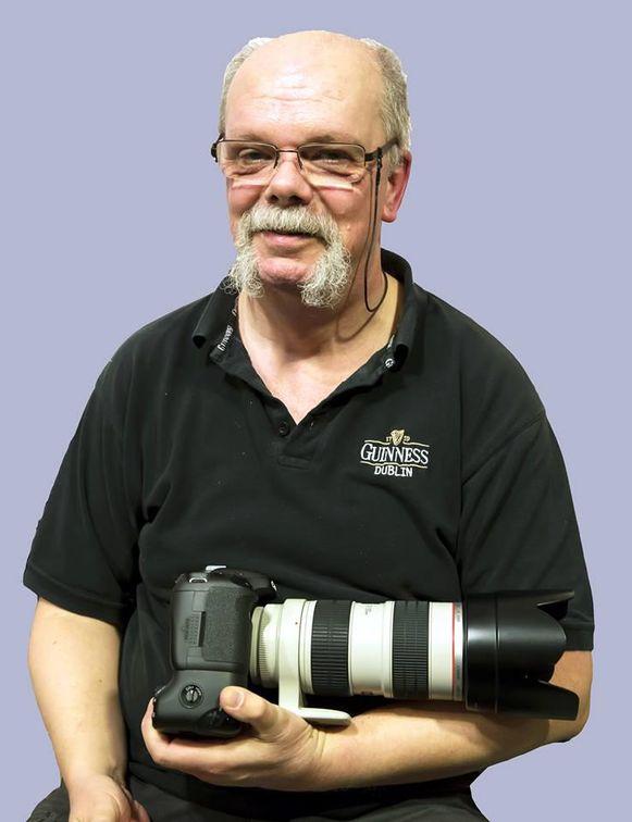 Muziekfotograaf Patrick Demey (60).