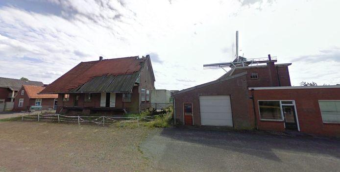 Het monumentale maalderijcomplex aan de Molenweg in Breedenbroek
