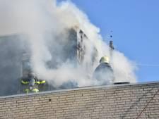 Veel schade na brand op bovenverdieping van woning in Breda
