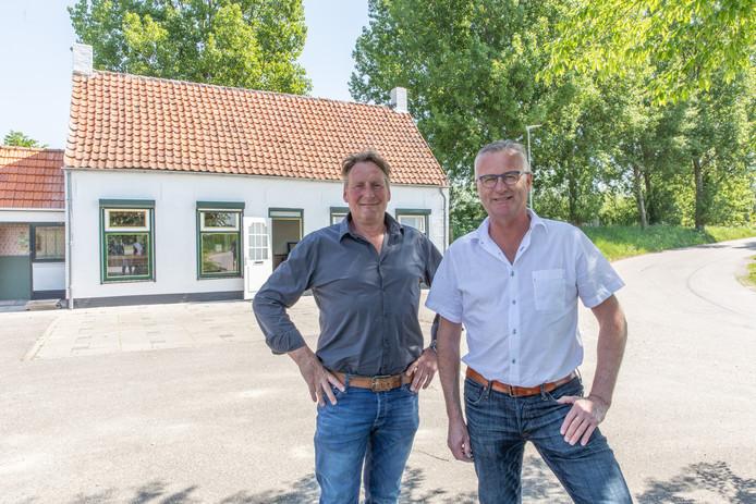 Koen Stokx (links) en Kees Kik.