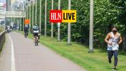 """LIVE. Marc Van Ranst roept op: """"Blijf weg van de kust"""" - """"Piek in Antwerpen is mogelijk voorbij"""""""