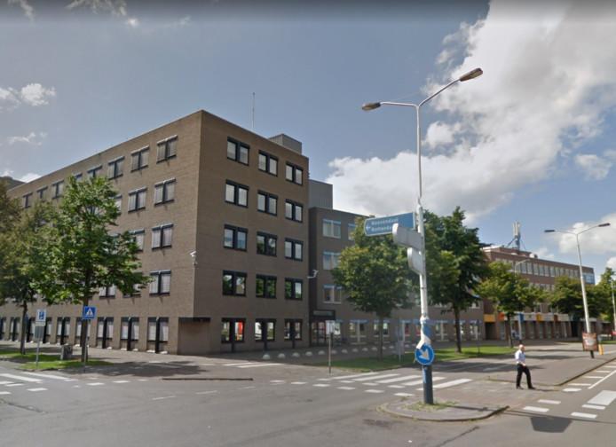 Het gebouw dat door Maas-Jacobs is gekocht.