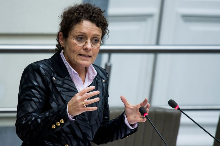 Vlaams minister van Mobiliteit en Openbare Werken Lydia Peeters (Open Vld)