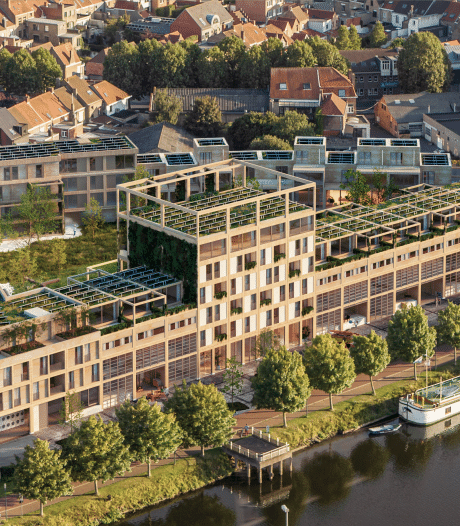 """Badkamerspecialist Van Marcke realiseert 120 (!) woningen op site aan Kolenkaai: """"Duurzaamheid staat bij ons voorop"""""""