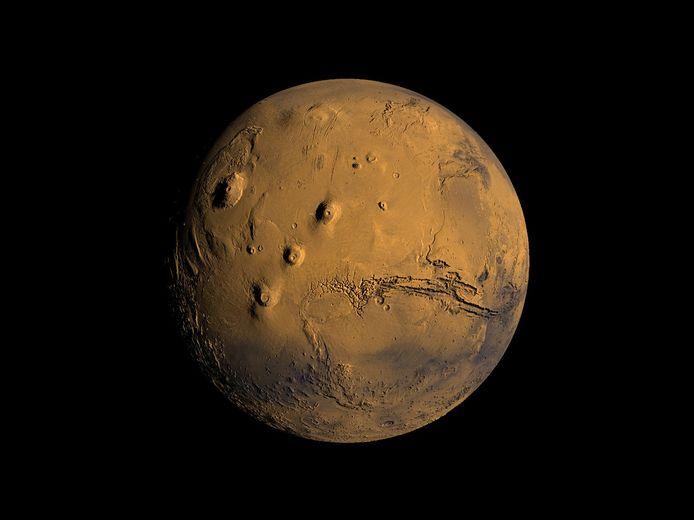 De Diepenbekenaar wilde eigenlijk Mars op beeld zetten.