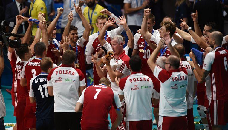De WK-titel met Polen beschouwt Heynen als zijn mooiste trofee in zijn carrière.