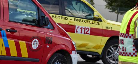 Un pompier bruxellois frappé au visage en pleine intervention