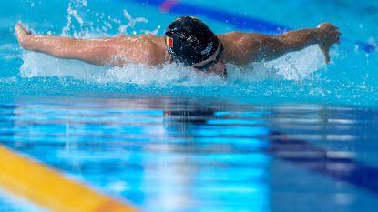 Kimberly Buys verbreekt haar Belgisch record in klein bad op de 50m vlinderslag