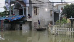 Dodental van overstromingen in Vietnam opgelopen tot 72
