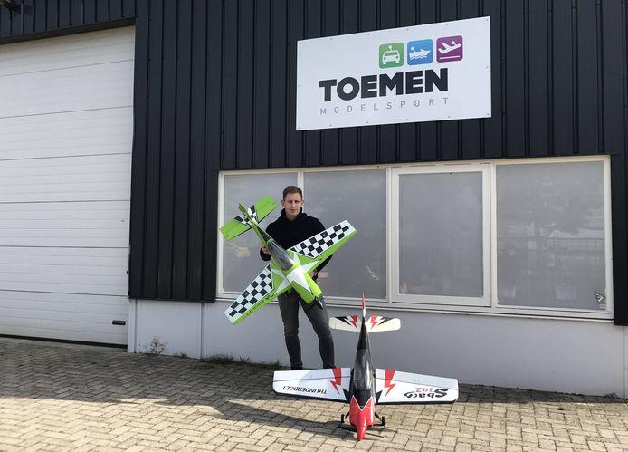 Jasper Toemen wil in het Insaidpand het modelsportpaleis van Oisterwijk onderbrengen.