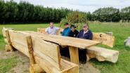 Natuurspeeltuin De Reukens uitgebreid met picknickbank en bijenhotel