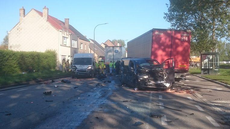 Zwaar ongeval in Oostende.