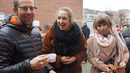 Sint-Barbaracollege klinkt op nieuwe jaar op eerste schooldag na kerstvakantie
